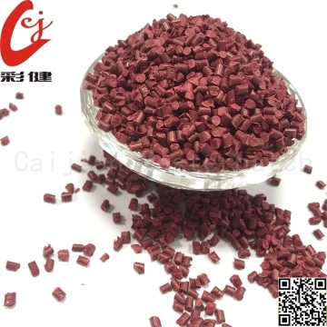 PVC Red Wire Masterbatch Granuler