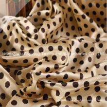 Printed Satin Fabric/100%Polyester Satin Fabric/Silk Fabric