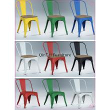brosse vintage prix de gros chaise en métal loft chaise en fer