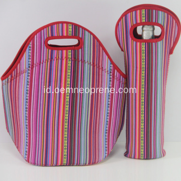 Pencetakan Unsur Nasional Neoprene Mommy Lunch Bags