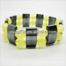 01B5009-6/new products for 2013/hematite spacer bracelet jewelry/hematite bangle/magnetic hematite health bracelets
