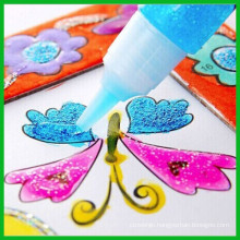 Safe for Children Stationery DIY Dry Glitter Glue Fast
