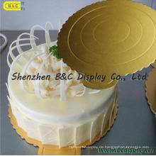 Kundengebundene Größe und Form Kuchenauflagen, Kuchenbretter, hohe Qualitu Kuchen-Behälter mit SGS (B & C-K062)