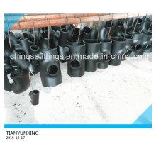 Dn15-Dn600 B16.9 Tissu sans soudure en acier au carbone en acier