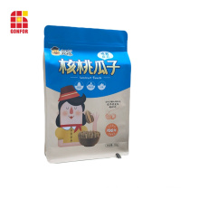 Flachbodenbeutel Mit Reißverschluss Für Samenverpackung