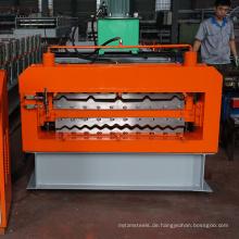 Neue Design Botou Kexinda Doppelschicht Rollformmaschine mit CE ISO