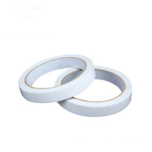 Custom High Quality 10mm Width White Tissue Adhesive Double Sided Tape For Sealing