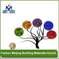 Jack de plancher en aluminium coloré de bonne qualité pour la fabrication de mosaïque de verre