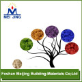 high quality pigment powder epoxy resin self leveling floor for mosaic