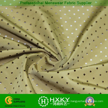 Star Design with Plain Dyed Perforated Polyester Fabric