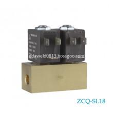 Brass And Aluminium Female AC220V Air Valve