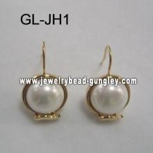 Shell perles Boucles d'oreilles