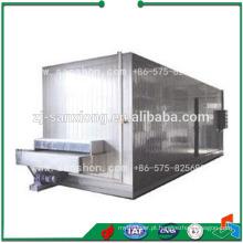 Tipo de túnel Blast Freezer Dumpling IQF Tunnel Freezer
