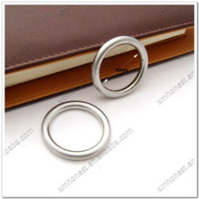 30mm alloy o ring in brushed nickel