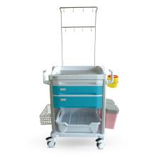 Chariot de traitement en option à double poteau ABS en couleur IV