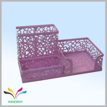 Офисные и канцелярские принадлежности металлическая сетка стол организатор