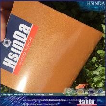Recubrimiento electrostático exterior de epoxi poliéster en aerosol Recubrimiento en polvo de cerámica