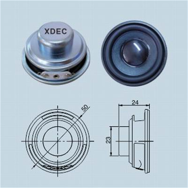 4ohm 3w Subround Sound Speaker Units for Bluetooth Speaker