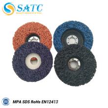 disques abrasifs de surface de disque à lamelles flexibles pour le polissage
