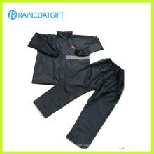 Reflective 100%Polyester Nylon Waterproof Rain Suit