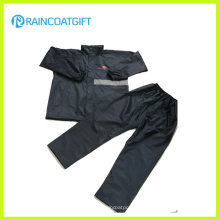 Reflective 100%Polyester Nylon Waterproof Rain Suit