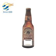 Venda quente de alta qualidade sublimação personalizado garrafa em forma de abridor de garrafa de vinho em massa