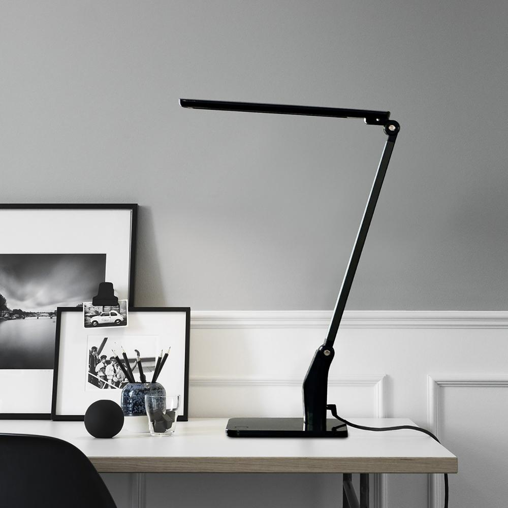 Lampe de bureau contemporaine à LED