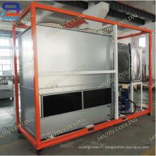Circuit de compteur de circuit fermé Superdyma de 25 tonneaux GTM-5 Équipement de traitement d'eau de haute qualité Mini refroidisseur Tour