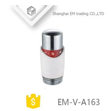 EM-V-A163 Control de temperatura del sensor de líquido Válvula termostática del radiador Cabezal de plástico