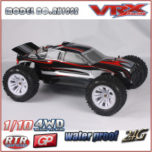 VRX Racing 01:10 rc nitro caminhão, carro de modelo rc nitro alimentado com duas velocidades