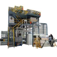 Máquina de fabricação de tecido não tecido de nova tecnologia