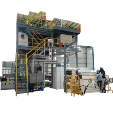 Machine de fabrication de tissu non tissé de nouvelle technologie