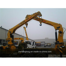 XCMG Sq8sk3q Truck Mounted Telescopic Crane 8ton Loading Crane