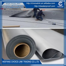 for underground polyester reinforced PVC waterproof membrane