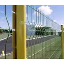 Autobahn Barriere Zaun