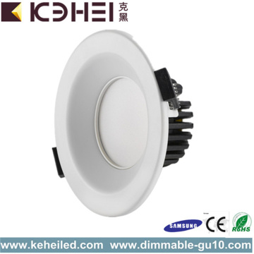 Runda Inbyggda 9W Dimmabled LED Downlight 3,5 tum