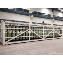 Gas Equipment 250bar CNG Steel Cylinders Tanker Gas Containers