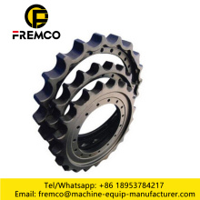 Komatsu Pc300-6 excavator sprocket-part No-207-27-61210