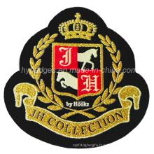 Insigne de logo de marque broderie de badge de patch badge (GZHY-PATCH-007)