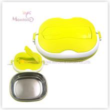 PP Edelstahl Lunchbox mit Löffel Utensilien (900ml)
