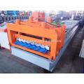 nouvelle conception 830 feuille de toiture de tuile vernissée formant la machine
