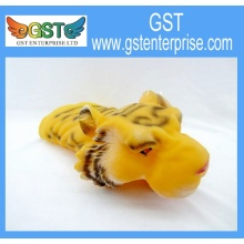 Plastic Educational Tiger Hand Puppets 11 inches