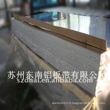 Prix de la tôle d'aluminium de la série 6000 6061/6063