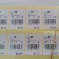 Etiquetas feitas sob encomenda cortadas da impressão do logotipo / etiqueta da parede / etiqueta do papel