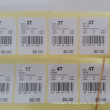 Gestanzte kundenspezifische Logo-Druckaufkleber / Wand-Aufkleber- / Papieraufkleber