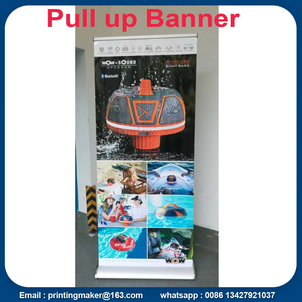 85x200 cm Aluminio Roll Up Banners