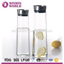 Jarra a prueba de calor del infusor de fruta del vidrio de Borosilicate de la venta caliente
