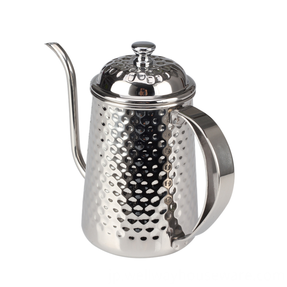 Stainless Steel Gooseneck Kettle 8th Team 650ml 1
