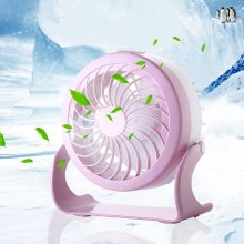 Water Cooler Stand Silent Desk USB Rechargeable Fan
