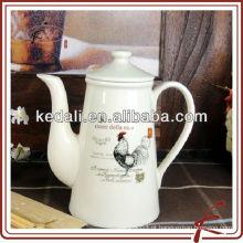 Mais vendidos Porcelana por atacado de porcelana Café Pote Pot Chá